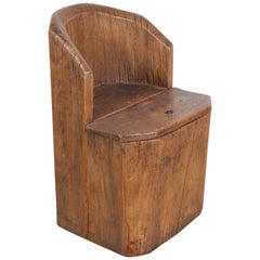 Antique Chinese Money Chair