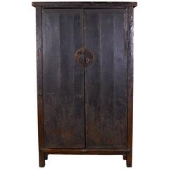 Fabulous Early 19th Century Cabinet with Original Thick Lacquer