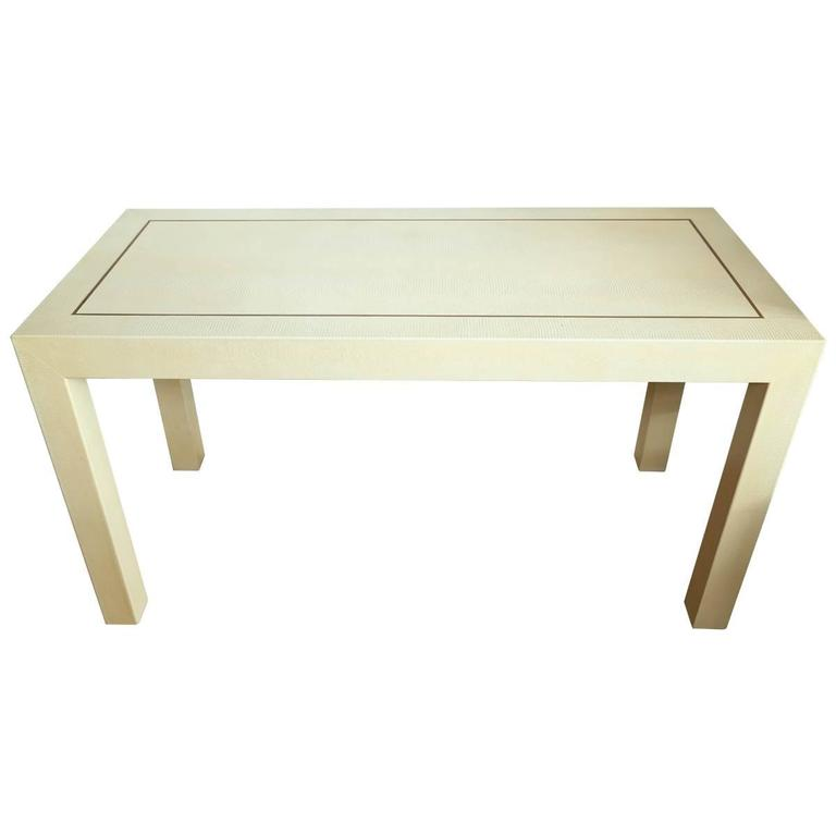 Karl Springer Console Table