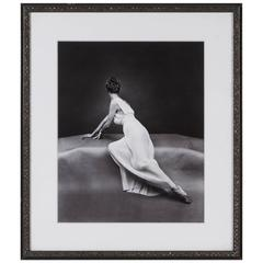 Vanity Fair Pleated Grecian Back Photo, Mark Shaw