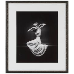 Vanity Fair Nude Front Photograph, Mark Shaw