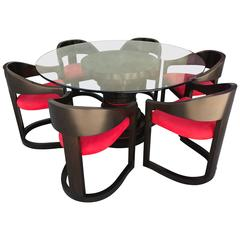 Stunning Dining Set in the style of Karl Springer