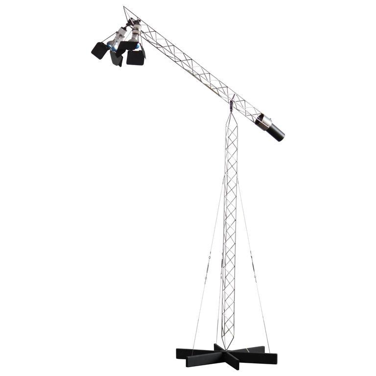 Crane Lamp by C. Jere
