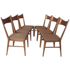 Six Paul McCobb Dining Chairs for Calvin Furniture