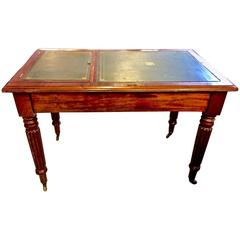 Regency or William IV Writing Table/Desk with Book Stand
