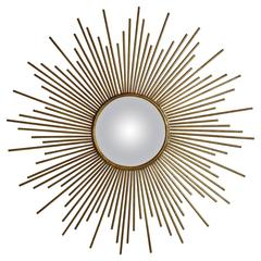 vintage starburst mirror by twos company