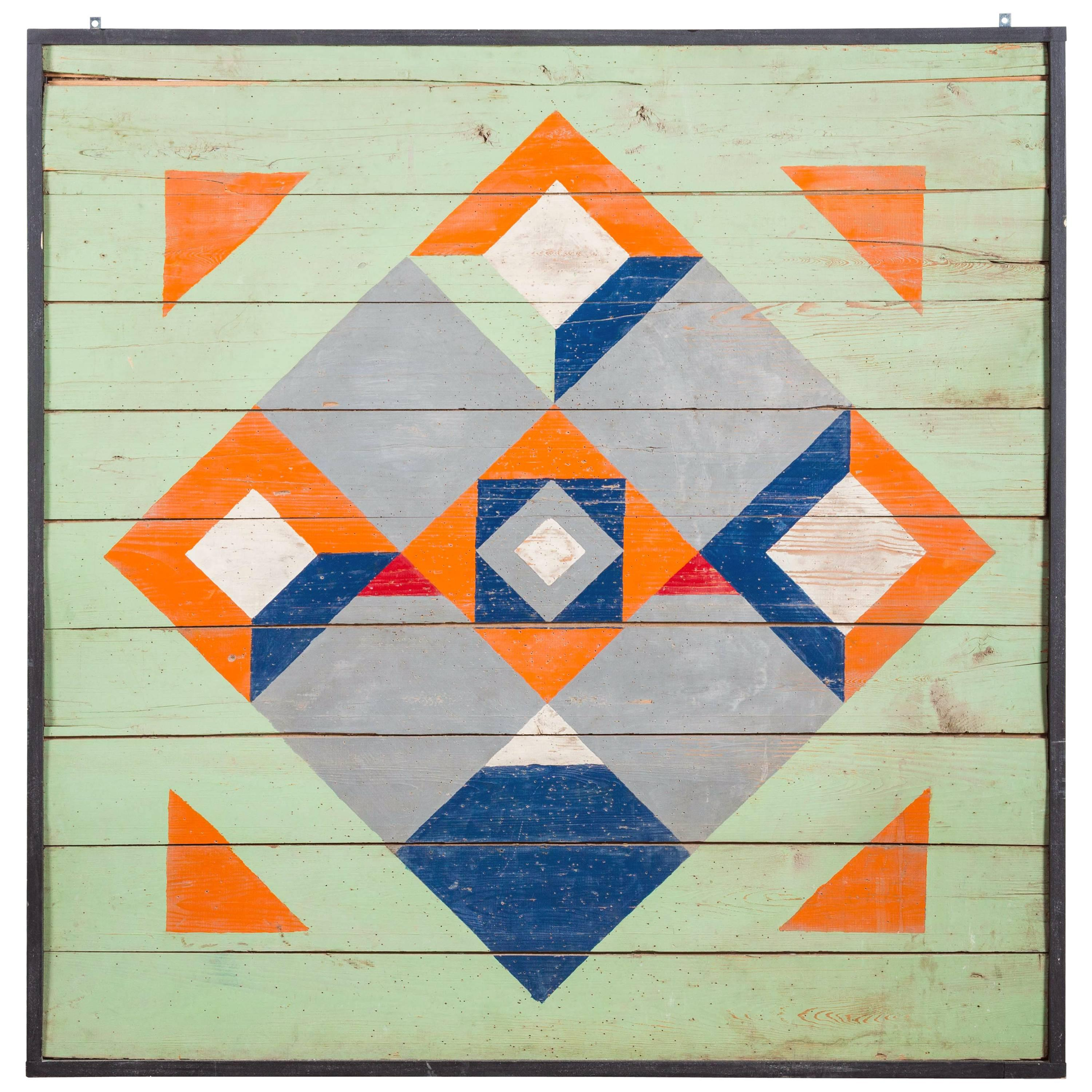 Vintage Abstract Carnival Midway or Tavern Dart Game