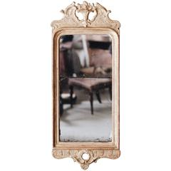 18th Century Gustavian Gilt-Wood Mirror