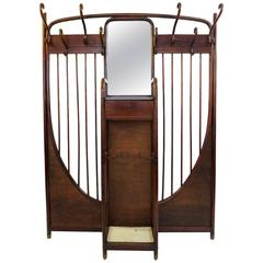 Beautiful Thonet Bentwood Cloak Rack and Umbrella Stand, circa 1900