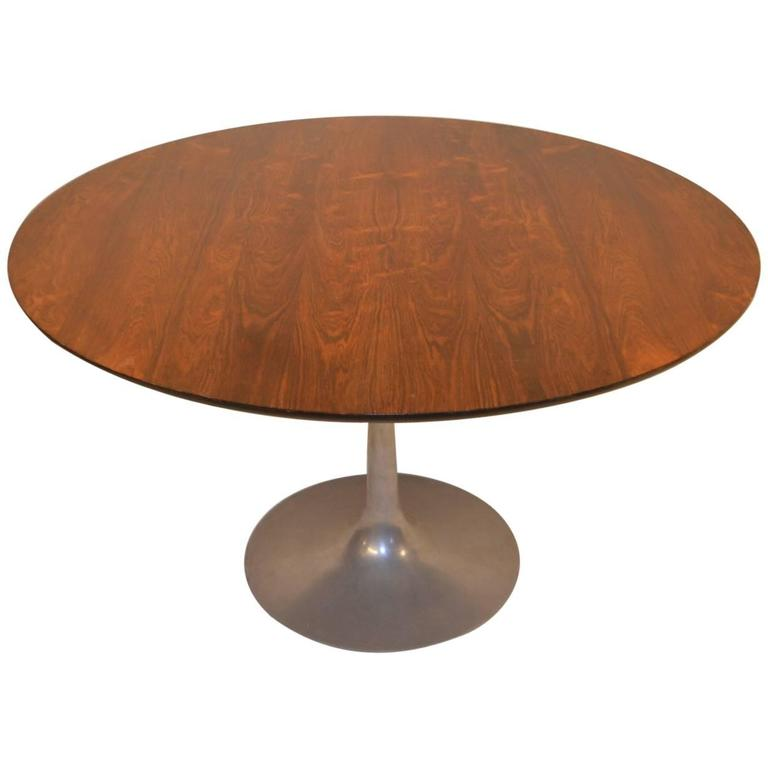 Rosewood Tulip Dining Table By Maurice Burke For Arkana At
