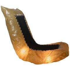 Illuminated Fiberglass Seat