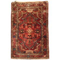 Hand-Knotted Rug from Turkey