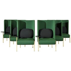 Ara Green Armchairs by PerezOchando