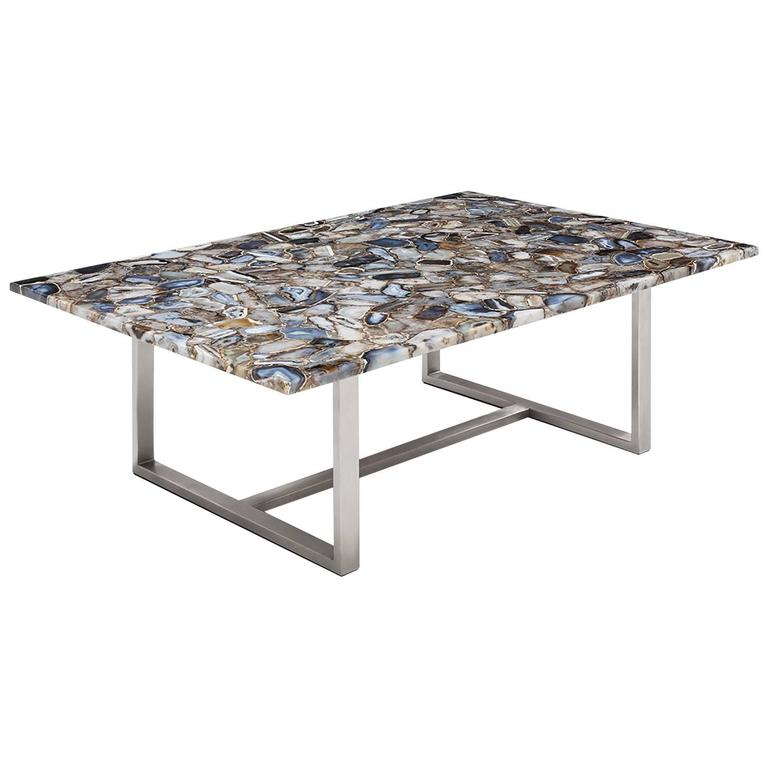 Agate Stone Coffee Table For Sale At 1stdibs