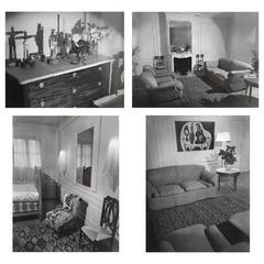 Four 1937 Francois Kollar Photographs of the Home of Eugenia Errazuriz