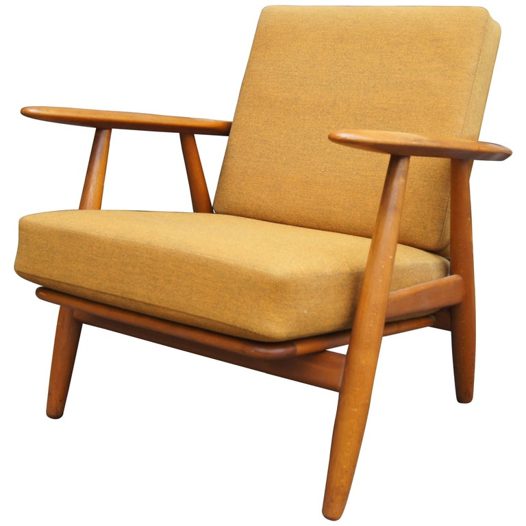 Cigar Armchair, Model GE-240 by Hans Wegner for GETAMA