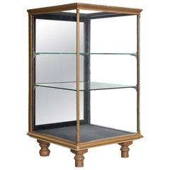 Small Mahogany Display Cabinet, England, circa 1930