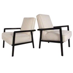 Pair of Vintage T.H. Robsjohn-Gibbings Lounge Chairs
