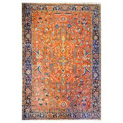 Incredible Early 20th Century Heriz Rug