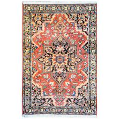 Wonderful Traditional 1930s Sarouk Farahan Rug