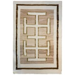 Striking Early 20th Century Navajo Rug