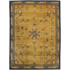 Breathtaking Antique Chines Art Deco Rug