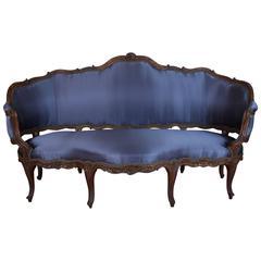 18th Century French Rococo Sofa