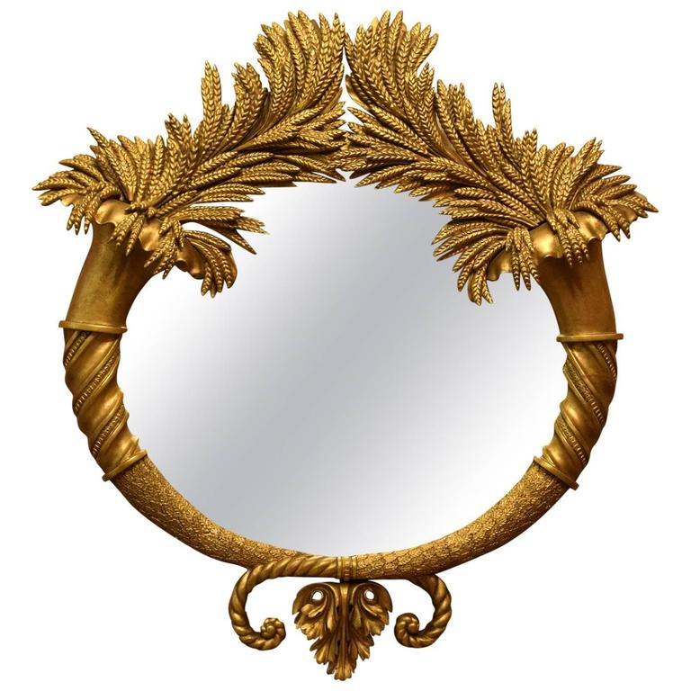 Magnificent Mirror by Georg Andreas Steinhäuser, circa 1830 1