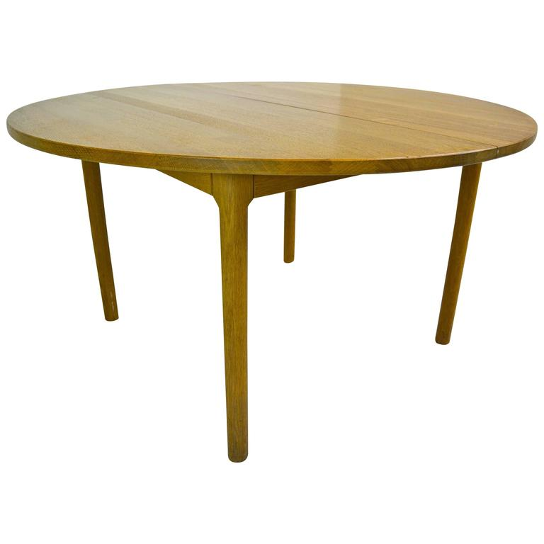 Hans Wegner for Ry Mobler Dining Table For Sale