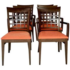 21st Century Modern Italian Set of Six Chairs by Roche Bobois
