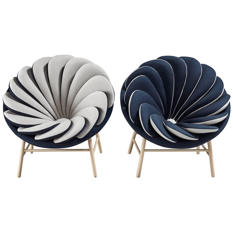 Pair of Quetzal Fauteuil by Marc Venot For Sale