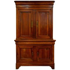 """Louis-Philippe Period French Cabinet """"Deux-Corps"""""""