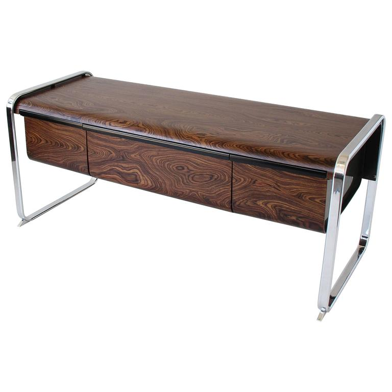 Zebrawood Credenza By Peter Protzman For Herman Miller At