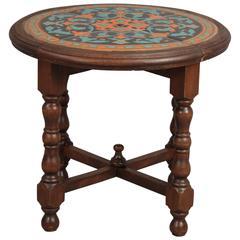 Antique California Tile Table
