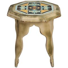 1920s California Tile Table with Rare Fish Motif