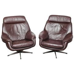 Mid century modern ib kofod larsen salen chair for Danish modern reproduction