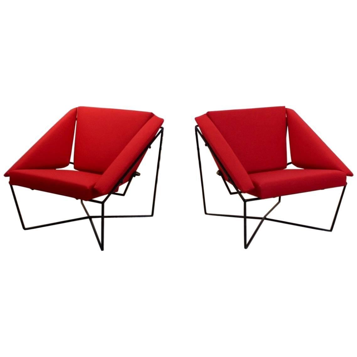 Amazing Sculptural Van Speyk Easy Chair by Rob Eckhardt, Holland