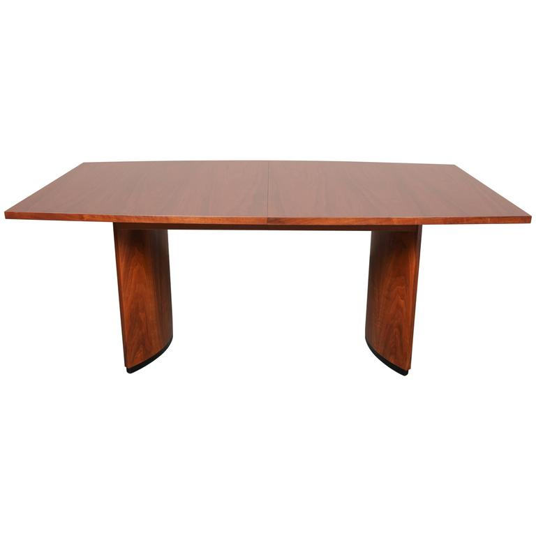 Large Modern Dining Room Tables: Large Mid-Century Modern Walnut Dining Table For Sale At 1stdibs