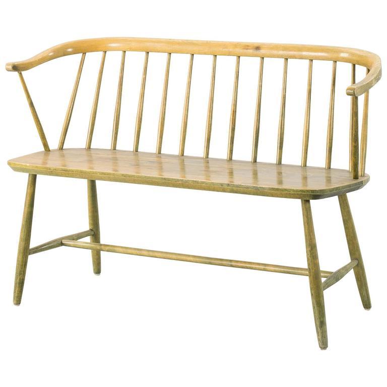Nesto Swedish Wooden Sofa