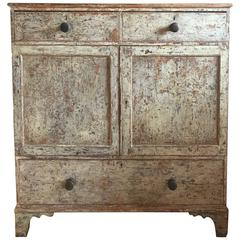 Mid-19th Century English North Country Linen Chest