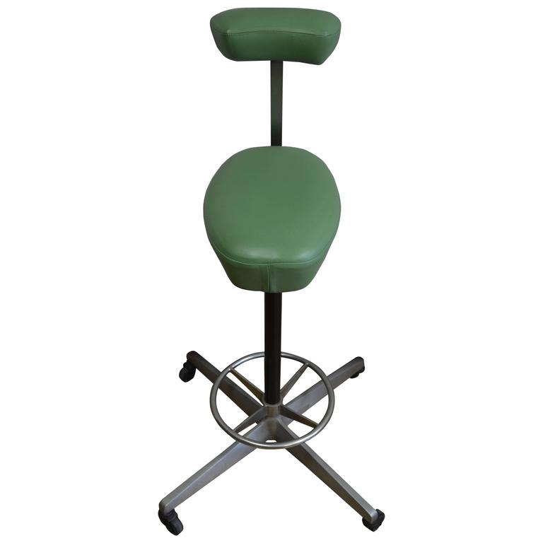 Drafting Stool, the Perch, Designed by Robert Probst with George Nelson