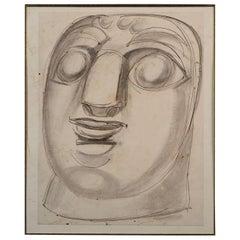 Henri De Waroquier 'Mask', France, 1914