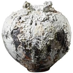 Moon Jar by Akiko Hirai Unique Handmade Ceramic Vessel The New Craftsmen