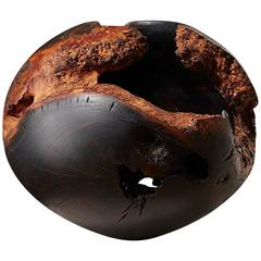 Scorched Hollow by Eleanor Lakelin Mulberry Wood Sculpture The New Craftsmen