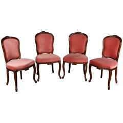 Four Louis Seize Chairs, circa 1850-1880