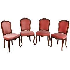 Four Louis Seize Chairs, circa 1850-1880