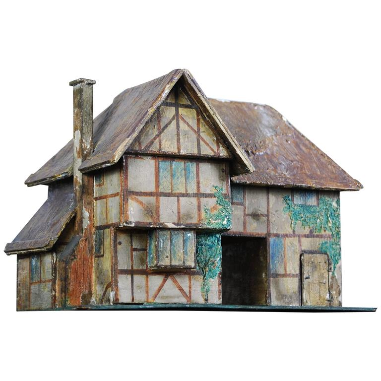 Early 20th Century English Model Farmhouse At 1stdibs