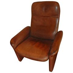 Leather Recliner by De Sede