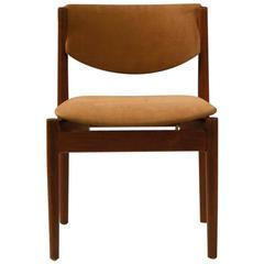 1960s Finn Juhl Model 197 Teak Dining Chair with Anilin Leather