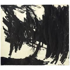"Phe Ruiz ""Homage to Franz Kline"", 1988"